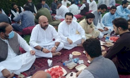 KP Minister under Hot waters for violating COVID SOPs