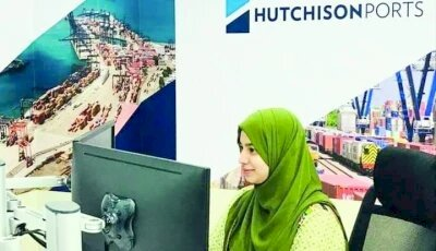 Khadija Saleem is the only Pakistani woman who leads a team responsible for planning cargo stowage.