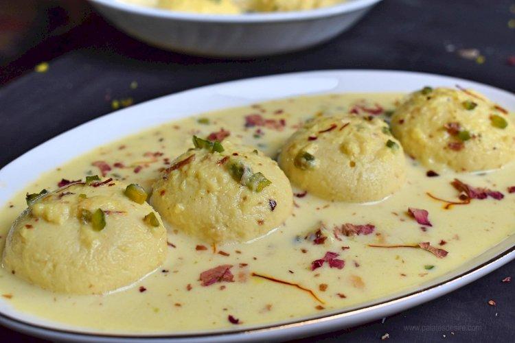 Rasmalai Recipe for Eid