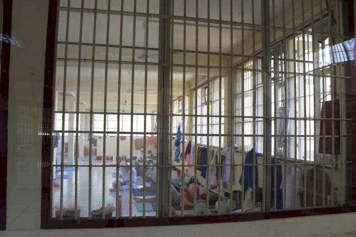 Prisoners comprise of over 60pc of Thailand's Covid-19 cases