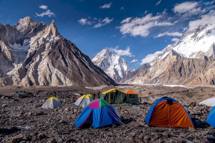 High-Speed Internet Connectivity At K2 Base Camp by PTA, SCO