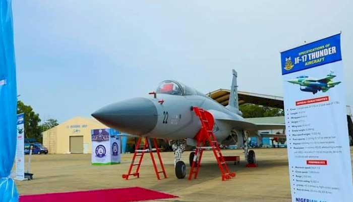 Nigeria Receives 3 JF-17 Thunder Fighter Aircraft From PAF