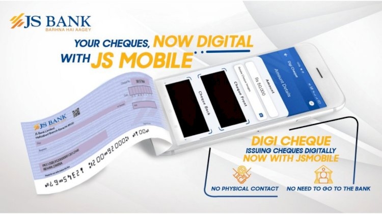JS Bank Introduces Pakistan's First-Ever Digital Cheque Service
