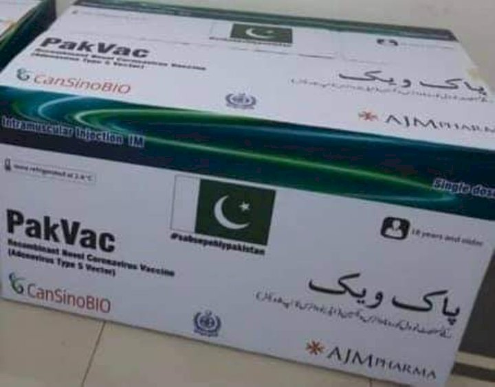 Pakistan made COVID-19 Vaccine 'PakVac' is Ready for Use.