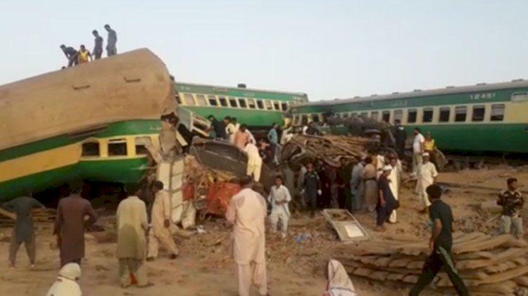 Sindh's Ghotki Train Accident Kills Over 36 Passengers