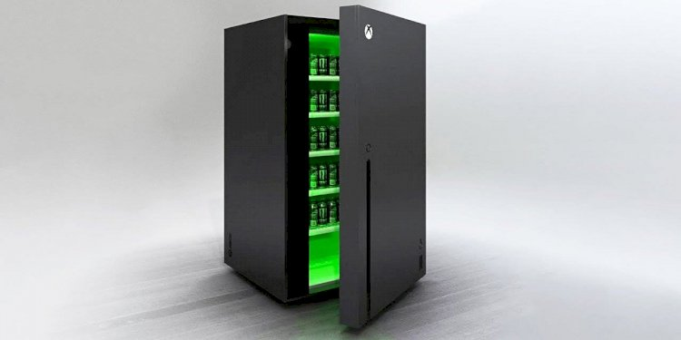 Introduction Of The Xbox Series 'X Mini Fridge' By Microsoft