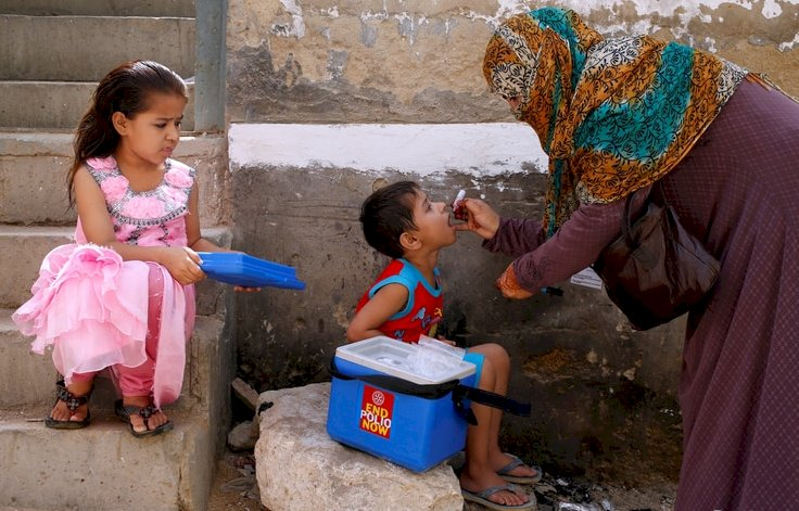 Four polio vaccinators killed in Afghanistan