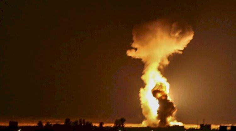 Israel Strikes Gaza In Response To Arson Balloons