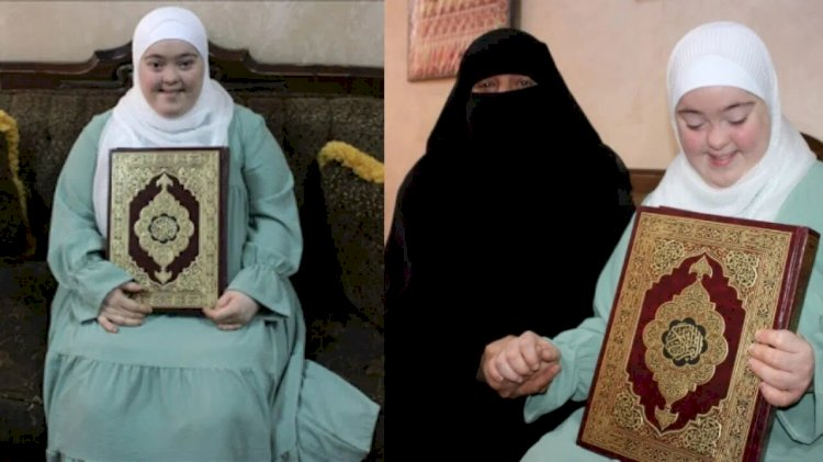 Meet Rawan Dewik with Down Syndrome Memorizes The Holy Quran