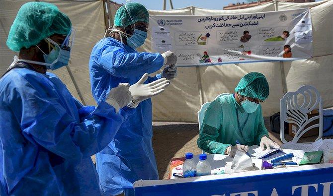 Pakistan's 162 healthcare workers die fighting COVID-19
