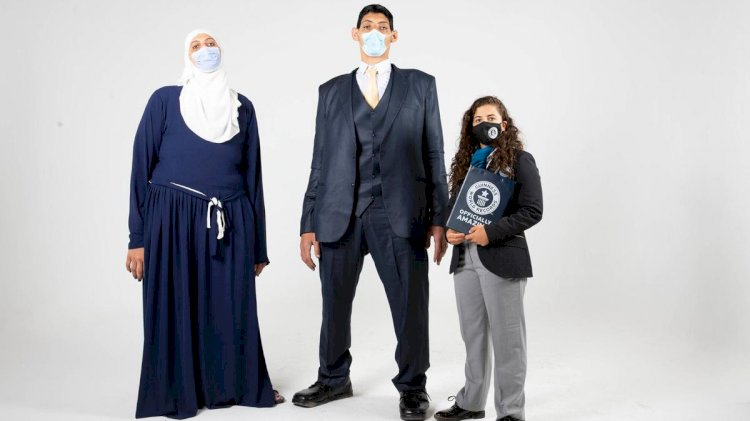 Meet Egyptian Siblings with Gigantism who have set 5 Guinness World Record.