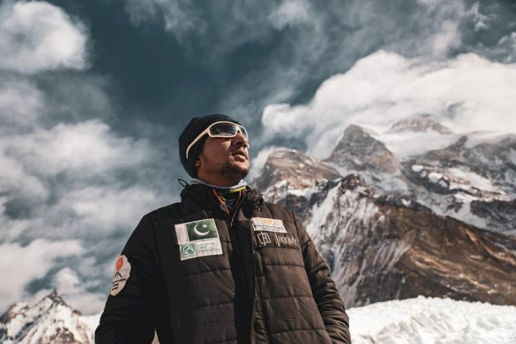 Sajid Sadpara's Announcement of Searching His Father's Body on K2