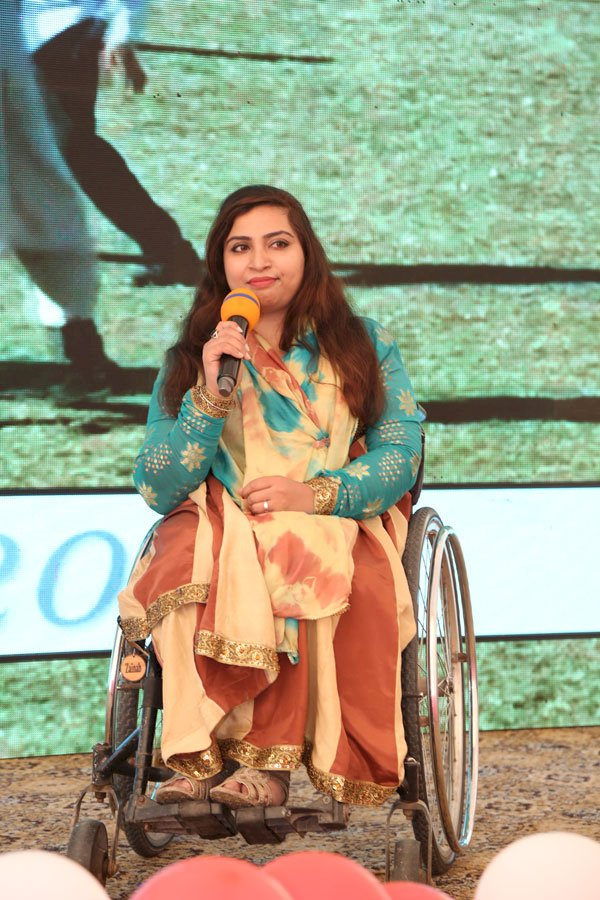 Zainab Barkat Becomes The First Pakistani Wheel Chair Bound Table Tennis Champion.