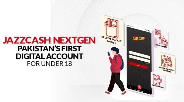 "JazzCash Launches ""NextGen"" Pakistan's First Digital Account for Teenagers."