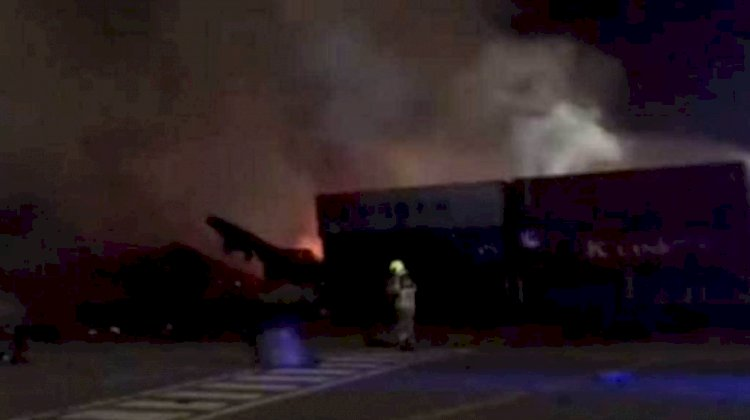 Fire At Jebel Ali Port, Dubai Under Control