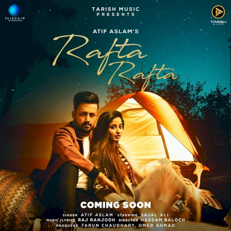 Sajal Aly & Atif Aslam is all set to share the screen for the First Time.