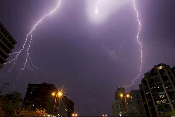 Lightning Strikes Kills Over 50 In India