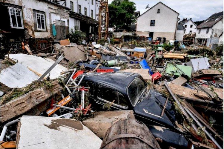 68 Died In Germany, Belgium Floods