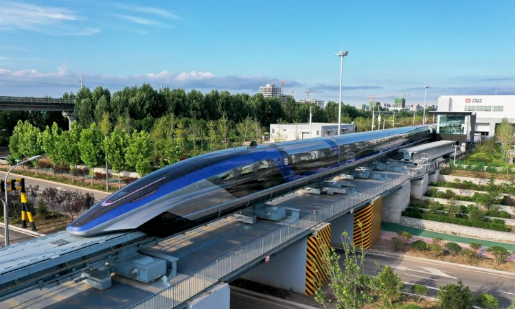 China Unveils The World's Fastest Train.