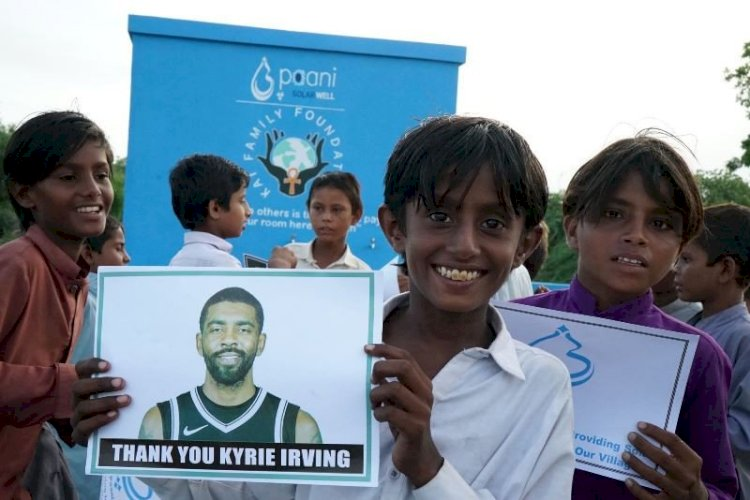 NBA Superstar  Kyrie Irving's  Builds Solar Water Center In Thar.