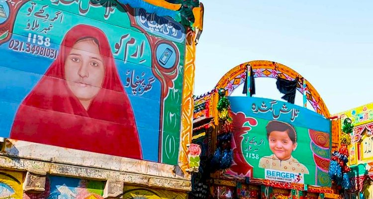 """Berger Paints started a new campaign called """"The Truck Art Childfinder Campaign."""""""