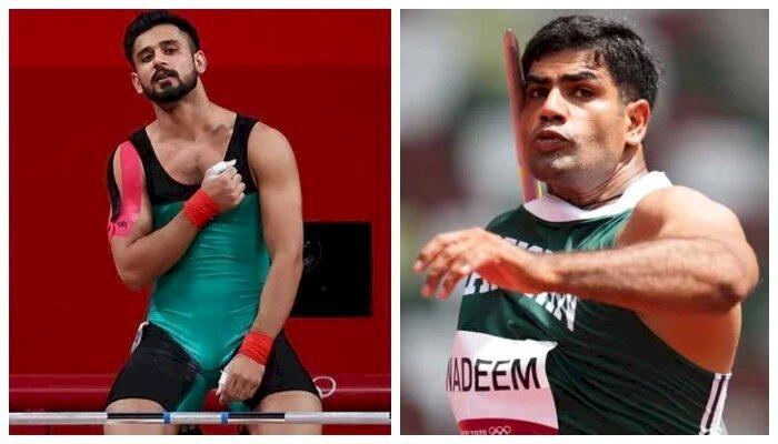 Punjab Government Announces Cash Reward For Olympians Arshad Nadeem and Talha Talib.