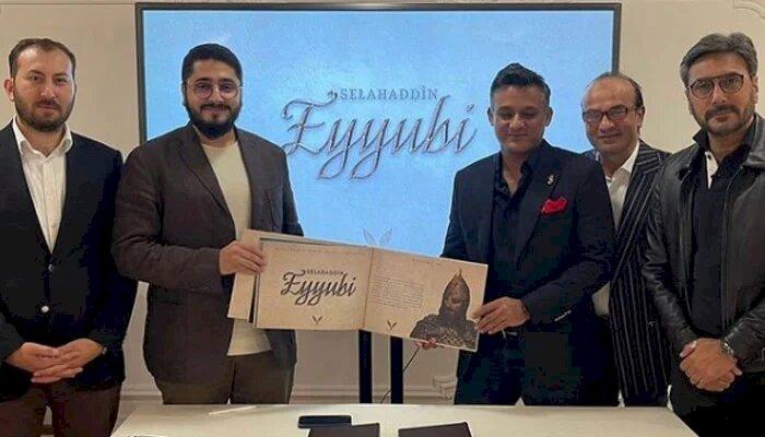 Pakistan And Turkey Join Together To Produce Series On Salahuddin Ayubi.