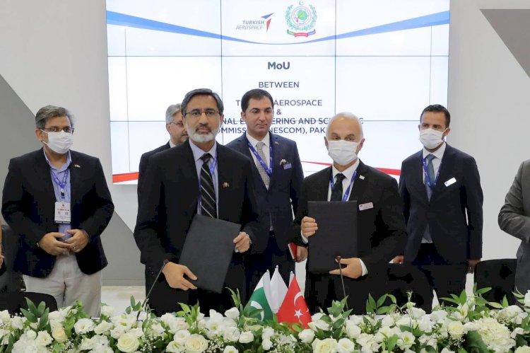 Pakistan and Turkish Aerospace Will Co-produce Anka Combat Drones.