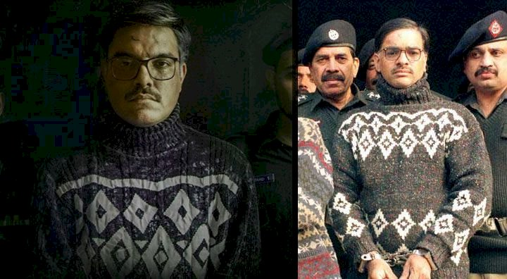 Yasir Hussain Unveil His First Look As Serial Killer Javed Iqbal For His Upcoming Movie.