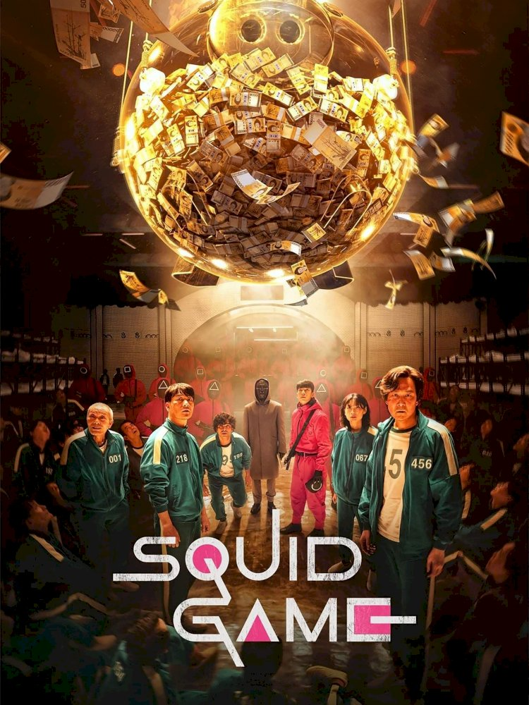 """""""Squid Game"""" Becomes the first Korean Series to Rate as Netflix's Top Show."""