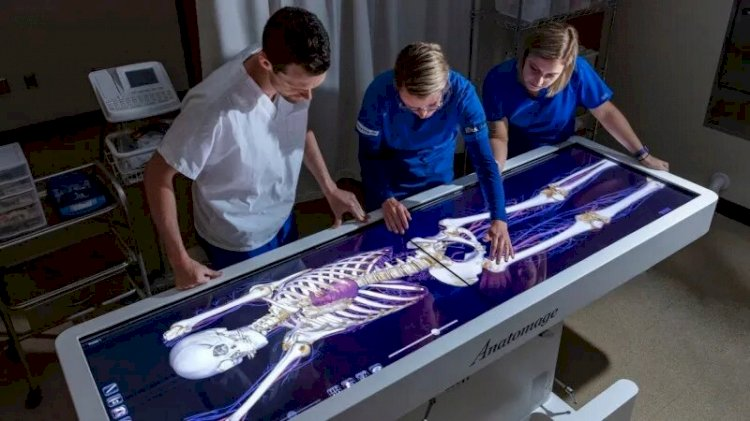 Azra Naheed Medical College has introduced Punjab's First 3D Dissection Table.