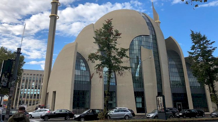 Germany's Largest Mosque Broadcast the Call to Prayer on Fridays.